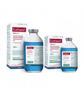 EUTHASOL 400 mg/ml Solución Inyectable