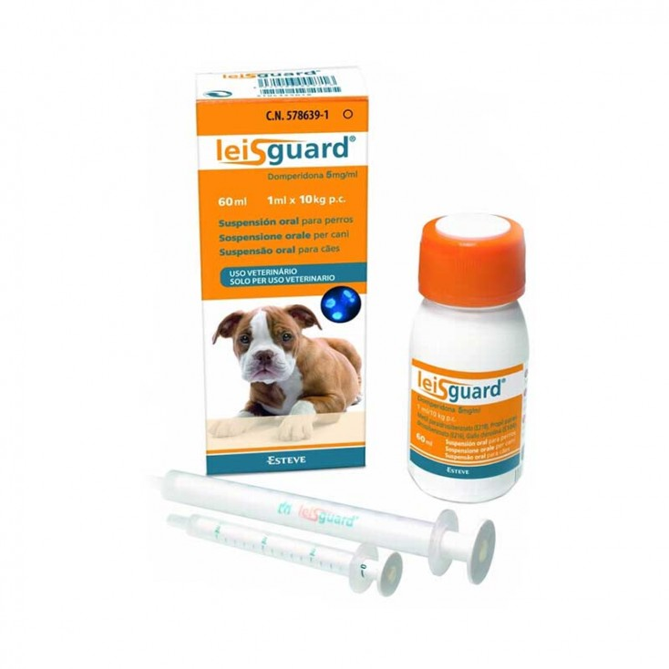 LEISGUARD 5 Mg/Ml Suspensión Oral Para Perros