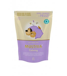 MULTIVA CALMING CAT & SMALL DOG  21 chews