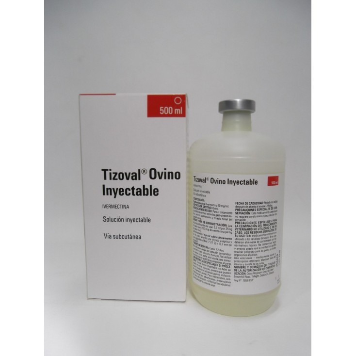 TIZOVAL OVINO INYECTABLE 500ml